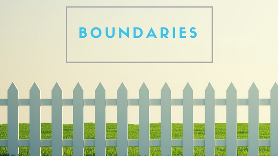 Boundaries, Guardrails